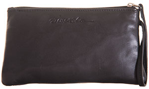 Black Annie purse with Card-Guard lining
