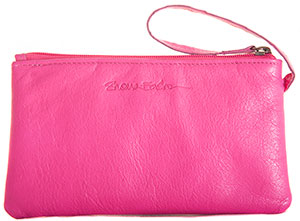 Pink Annie purse with Card-Guard lining
