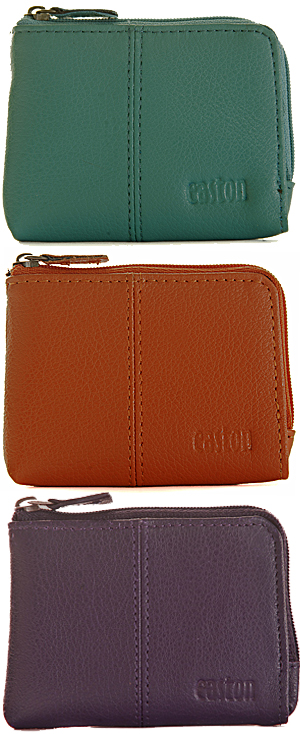 Set of 3 zip around purses