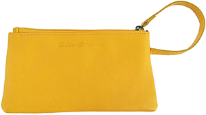 Yellow Annie Purse with Card-Guard lining