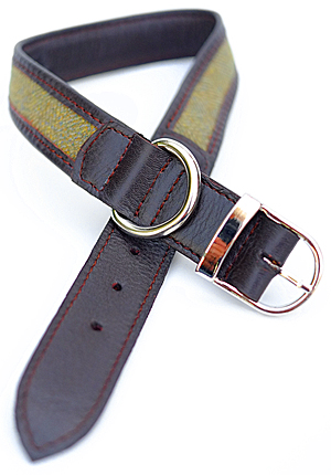 Large Tweed Dog Collar